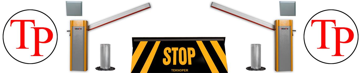 Teknoper | Turnike | Kollu Bariyer | Mantar Bariyer | Geçiş Kontrol | Kollu Bariyer Sistemleri